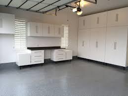Garage Floor Coating  Light Gray Tech