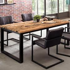 Wohnling Esstisch Bellary 200x100x79 Cm Esszimmertisch Modern Design Küchentisch Massiv Groß Massivholztisch Esszimmer Industrial Style Tisch