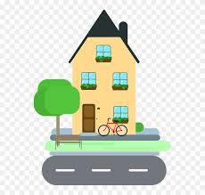 New House Clipart 12 Housing Area Cartoon Png Free