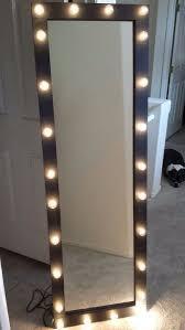 full length lighted vanity mirror by