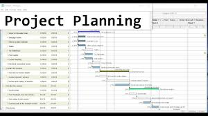 Project Planning Project Management Gantt Project Grs Youtube