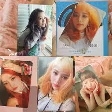 Red Velvet Trade Pc On Twitter All Red Velvet Photocard
