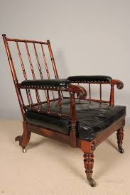 superb gillows rosewood library chair antiques atlas