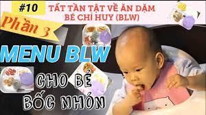 10 THỰC ĐƠN BLW (PHẦN 3), thực đơn ăn dặm bé tự chỉ huy giai đoạn bốc nhón,  me bong tv » iVN's Blog