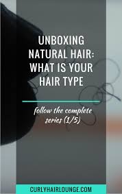 Andre Walker Hair Chart Unboxing Natural Hair What Is Your Hair Type