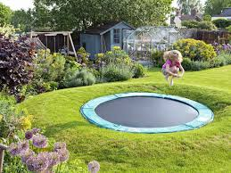 Small Picture Sunken trampoline part of a Family Garden Design find out more