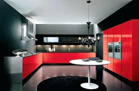inspiring red kitchen black and red kitchen designs photo 1 bright red kitchen rugs