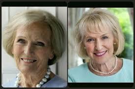 Mary Berry and Rosemary Conley.   Mary berry, Conley, Rosemary
