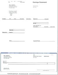 Payroll Pay Stub Template Free Pay Stub Template Basic Payroll Services Check Stubs Port By