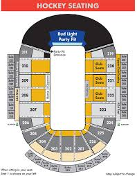 Gamblers Hockey Seating Chart 63 Unfolded Resch Center Disney On Ice Seating Chart