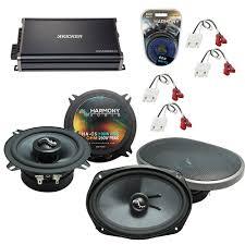 Kicker Cxa300 1 Red Light Compatible With Cadillac Fleetwood 85 92 Oem Speakers Replacement Harmony C5 C69 Cxa300 4 Amp