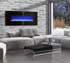 modern flames electric fireplace 60 inch linear recessed