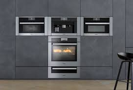 I am planning a kitchen and really want a plumbed miele coffee maker. Miele Appliances Best Buy