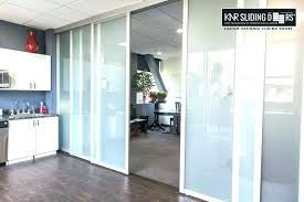 office sliding door. Interior Office Doors Astonishing Design Sliding Glass Space Door