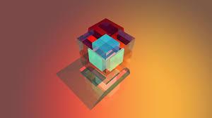 Abstract 3d Cube Wallpaper