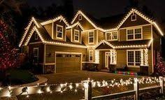 christmas lights outside. Interesting Christmas Use Warm White LED Rope Lights To Outline The Edges Of Home  Holidaylights  Exterior Christmas  Inside Christmas Lights Outside T