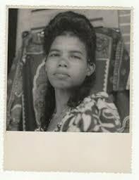 Liv2187 Photographie Photo Vintage Jolie Femme Sourire Coiffure Indochine