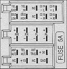 saab car radio stereo audio wiring diagram autoradio connector saab 12781856 stereo wiring connector