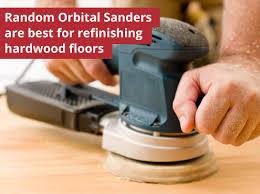 orbital sander for refinishing hardwood floors