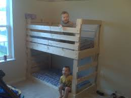 Diy Toddler Loft Bed Ana White Crib Size Mattress Toddler Bunk Beds Diy Projects