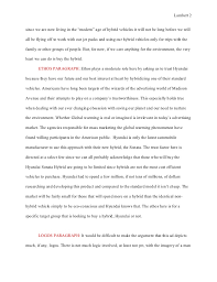 essay ad analysis rough draft the hyundai hubrid hype  our presumed understanding that 2