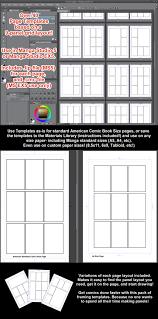 manga page size manga studio 5 page templates 9 panel grid variations