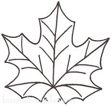 print out the maple leaf sewing pattern