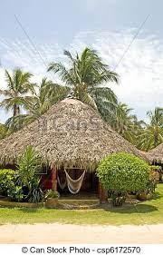 Open_in_new link to source ; Ilha Milho Telhado Sape Cabana Nicaragua Central Ilha Milho Hotel Cabana Sape Recurso Rede Telhado America Canstock