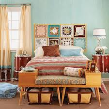modern vintage style bedrooms. Brilliant Style Modern Bedroom Decorating Ideas And Bright Room Colors Furniture Decor  Accessories In Retro Style Intended Vintage Style Bedrooms A