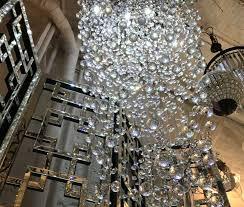 elegant raindrop crystal chandelier in ten feet ed prestige