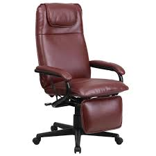 reclining office chairs. Flash Furniture High Back Burgundy Leather Executive Reclining Swivel Office Chair Chairs I