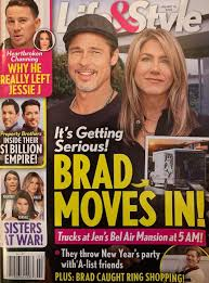 Brad Pitt And Jennifer Aniston Moving In Together?