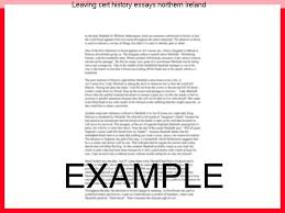 leaving certificate history sample essays gallery certificate  leaving cert history essays northern term paper academic leaving cert history essays northern history