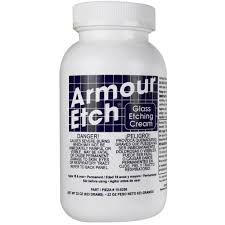 How To Etch Glass Armour Etchar Glass Etching Cream
