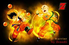 Wallpaper Goku and Krillin