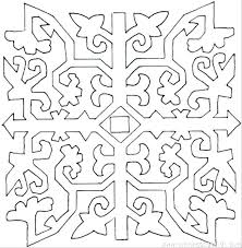 Geometric Patterns Coloring Pages Images Of Printable Hard Geometric