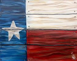 how to paint rustic texas flag s only