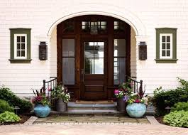 double front door colonial. Colonial Style Front Doors Farmhouse Entryway Dark Finishing  Door With Semi Blurred Glass . Double O