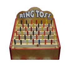 Wooden Carnival Games Wooden Ring Toss Carnival Game Main Event Fun 23