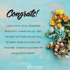 20 Unique Quotes And Messages To Wishes For Congratulations