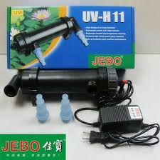 JEBO <b>UV</b>-<b>H11</b> 11W <b>UV Sterilizer Lamp Light</b> Water Cleaner For 60G ...