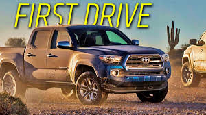 The 2016 Toyota Tacoma: A Spicy Taco That Doesn't Taste All That New