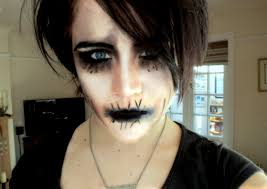 devin ghost sola from motionless in white inspired make up look you