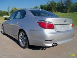 Titanium Silver Metallic 2005 BMW 5 Series 545i Sedan Exterior ...