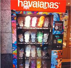 Australia Vending Machine Inspiration Havianas Thong Vending Activend Vending Solutions And Services