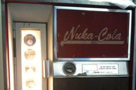 Nuka Cola Vending Machine For Sale Gorgeous NukaCola Vending Machine Vends NukaCola