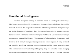 emotional intelligence gcse maths marked by teachers com document image preview