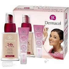 dermacol set make up 7757 w kosmetyki zestaw kosmetyków 30 ml 24h control make up