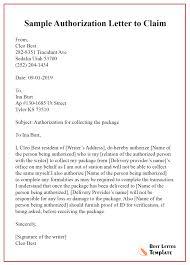 Free Authorization Letter Sample Example Unique Certificate