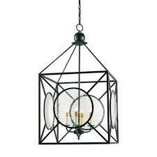 currey company old iron four light beckmore lantern chandelier